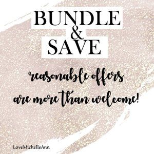 BUNDLE & SAVE 🖤 OFFERS WELCOME 🖤